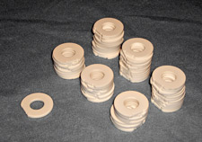 Ceramic disks photo