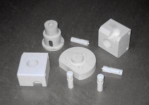 Ceramic pump parts