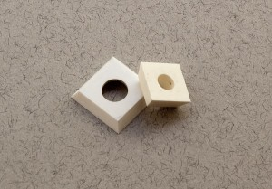 Ceramic square wood cutters