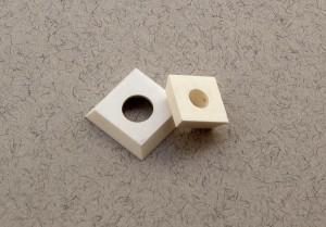Ceramic square wood cutters