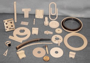 Ceramic parts used in manufacturing  processes