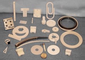 Custom-designed ceramic parts