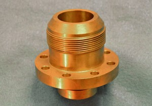 Precision-machined brass