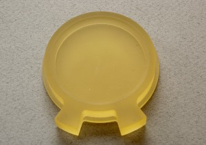 Custom-designed polyurethane part