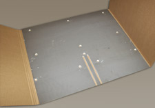 Ceramic-coated conveyor platform photo