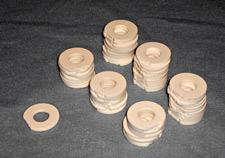 Ceramic disks photo