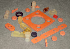 polyurethane parts photo