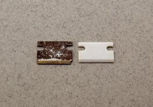 Ceramic cutters will not corrode like  steel cutters do