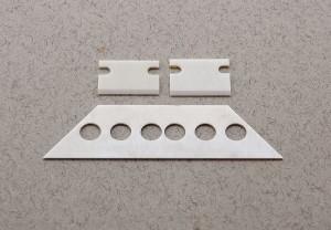 Custom-designed ceramic blades