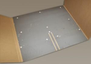 Ceramic coated conveyor platform for food packaging