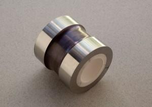 Ceramic-to-metal heat shrink fitting