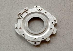 Precision-machined aluminum