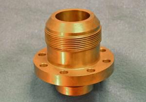 Precision-machined brass