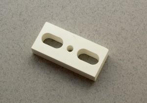 Ceramic insert for ultrasonic horn